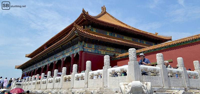 Städte-Trip Top 3: China, Peking: Verbotene Stadt Palast