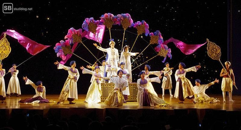 Städte-Trip Top 3: Deutschland, Hamburg: Disney's Aladdin Musical