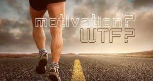 Motivation die große Unbekannt - Bild eines Joggers auf einer Straße die bis an den Horizont reicht