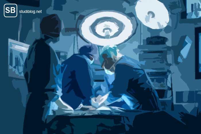 OP-Saal zum Thema Unfallchirurgie - Start ins Medizinstudium