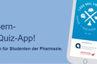 Lass mal kreuzen - App für Pharmazie-Studenten