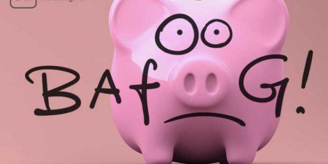 Ein etwas traurig dreinblickendes Sparschwein zum Thema Fehler beim BAföG-Antrag vermeiden