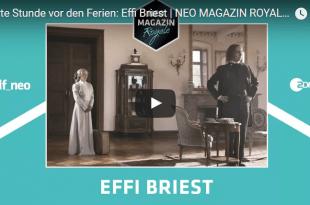 Letzte Stunde vor den Ferien, Jan Böhmermann, Neo Magazin Royale: Effi Briest