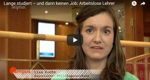 Arbeitslose Lehramt-Studenten - Screenshot Video