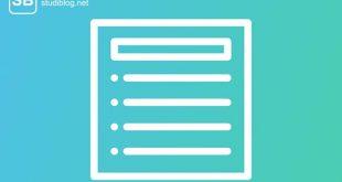 Auf blauem Hintergrund weiße Striche, die eine Liste darstellen sollen - Leitlinien im Klinikalltag.