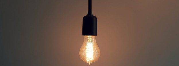 Bachelorarbeit - von der Idee des Themas zum Titel: Glühbirne hängt von der Decke