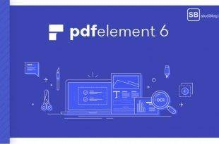 Wondershare PDFelement 6