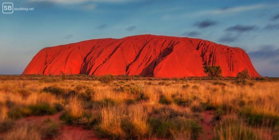 Auslandssemester in Australien: Ayer Rock