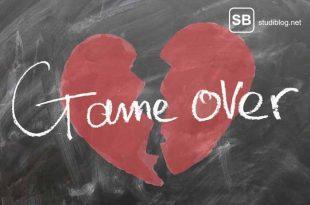 Ein gebrochenes Herz als Symbold für den Dating-Trend Caspering