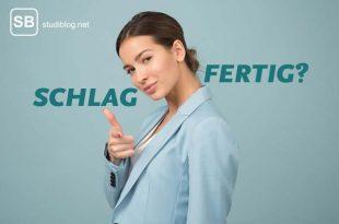 Schlagfertigkeit lernen - Titelbild mit selbstbewusster Frau