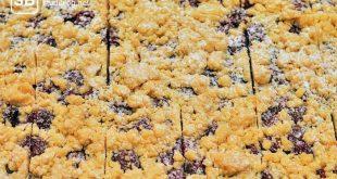 Blechkuchen mit Kirschen - einfache Backrezepte für Studenten