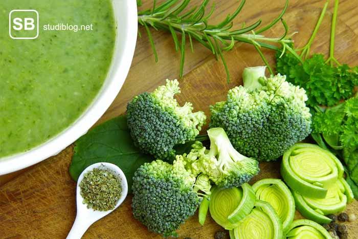 Brokkolisuppen-Rezept zum Thema Suppen