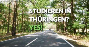 Mit dem Motorrad durch Thüringen und die dortigen Hochschulstandorte