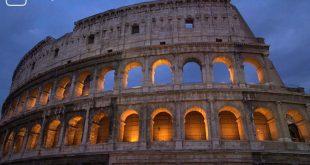 Das Kolosseum als Titelbild für das Thema Online Italienischs lernen