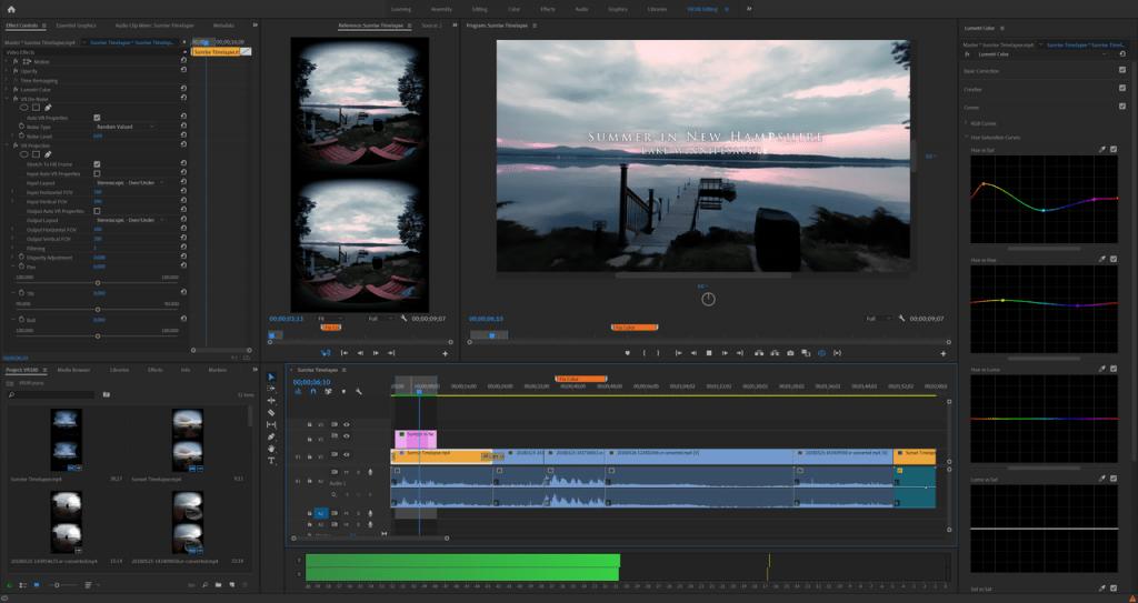 Videoschnittprogramm von Adobe