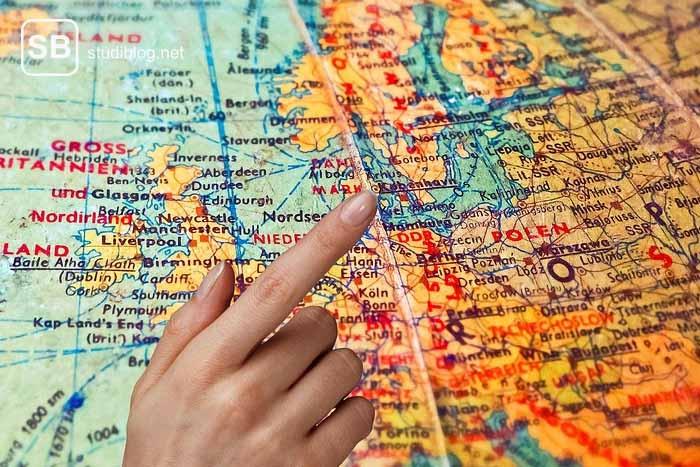 Globus als Sinnbild für das Auslandssemester