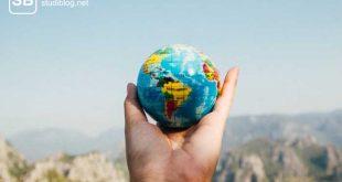 Weltkugel als Zeichen für ein Gap Year