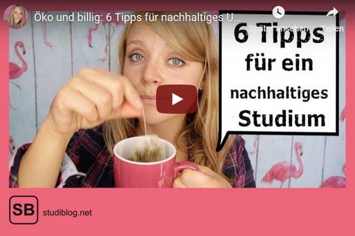 """Screenshot vom Video Nachhaltiger leben """" mit ÜberUni"""