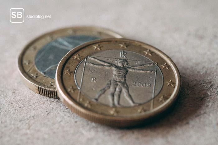 Mindestlohn - 2 Euro Stücke