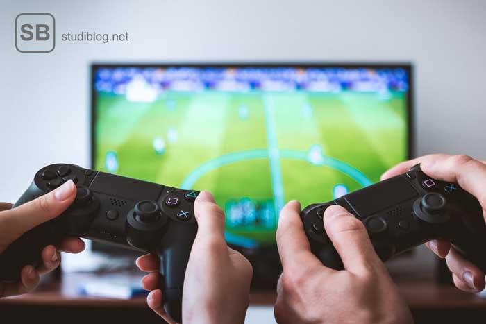 Spiele von früher in Form der Playstation