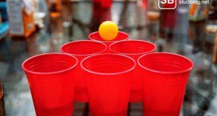 Beerpong als Trinkspiel