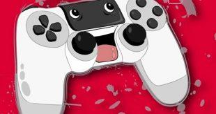 Game-Entwicklung - Spielekonsole-Joystick