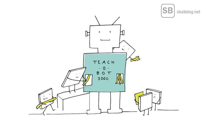 Artikel zum Thema Handelsroboter auf StudiBlog