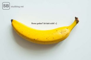 Erotische Geschichten, symbolisiert mit einer Banane