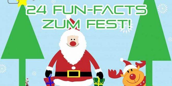 24 Fun Facts zum Fest