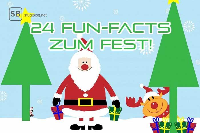 oh du fr hliche 24 fun facts zu weihnachten studiblog. Black Bedroom Furniture Sets. Home Design Ideas