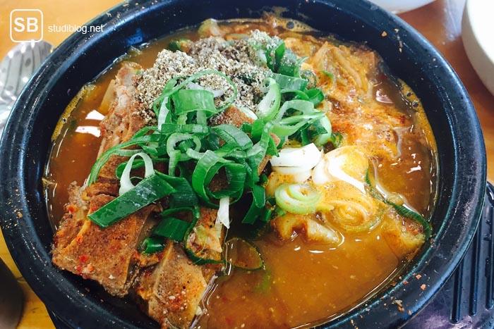 Essen in Südkorea