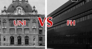 Fachhochschule vs Universität